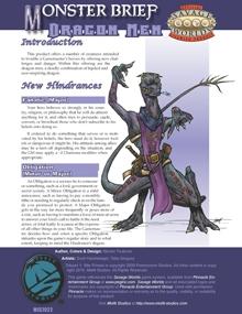 Monster Brief: Dragon Men