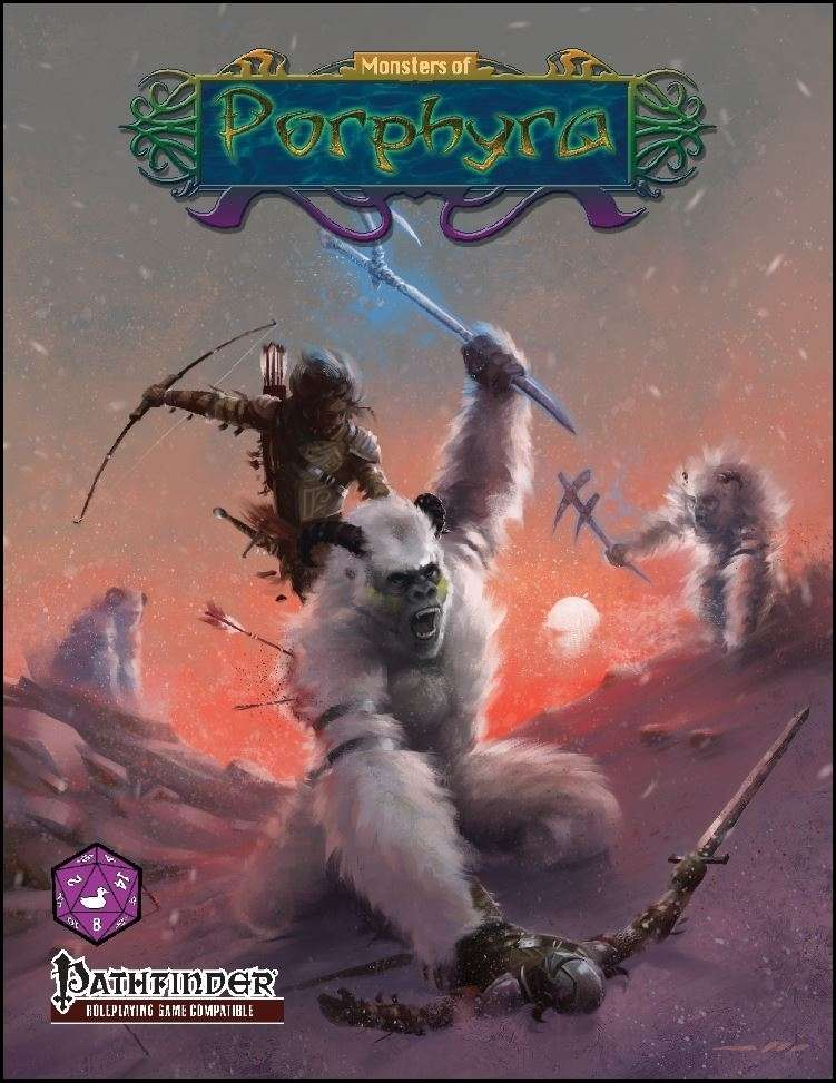 Monsters of Porphyra (PFRPG)