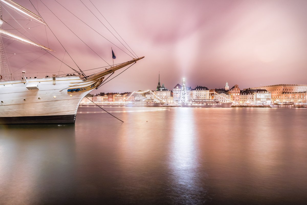 Stockholm på natten