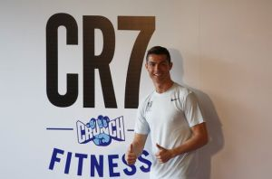 Real-Madrids-Cristiano-Ronaldo-poses-as-he-attends-a-publicity-event-in-Madrid
