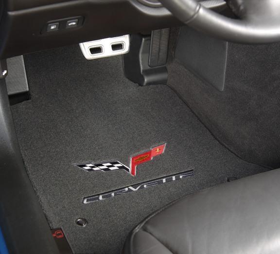 C6 Corvette Lloyd Floor Mats  Velourtex  RPIDesignscom