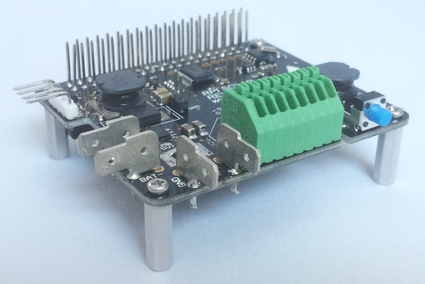 hight resolution of  deployments including a solar panel interface battery backup and charging analog to digital inputs a pwm fan controller and a real time clock for