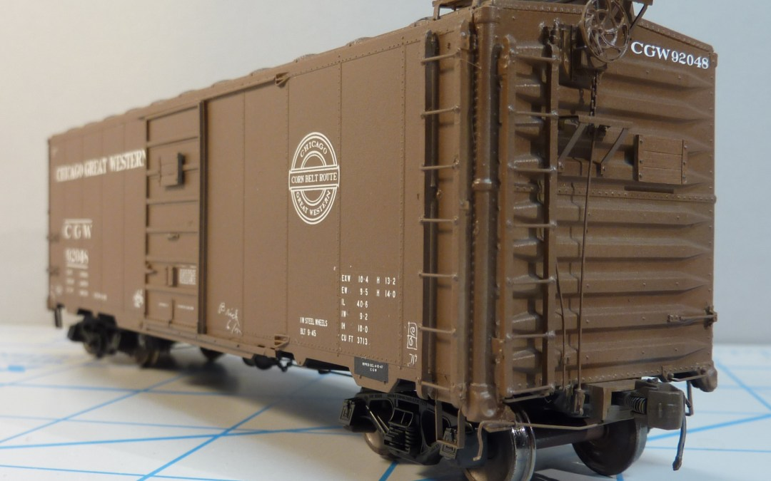 2017 Mini-Kit: CGW 1937 AAR Boxcar