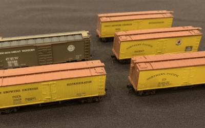 2018 Mini-Kit: FGEX 40ft Truss Rod Reefers