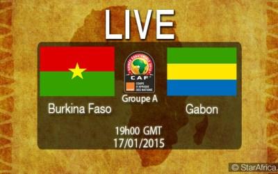 "CAN 2015 ""On vit le Match"" Burkina vs Gabon"