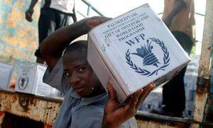 Programme d'aide alimentaire des NU