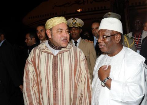 Le président IBK et le roi Mohamed VI