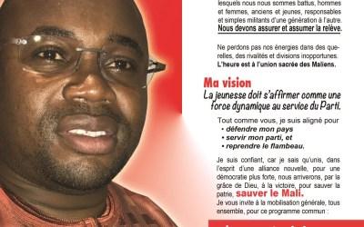 POURQUOI JE SUIS CANDIDAT? l'appel de Ibrahima HAIDARA