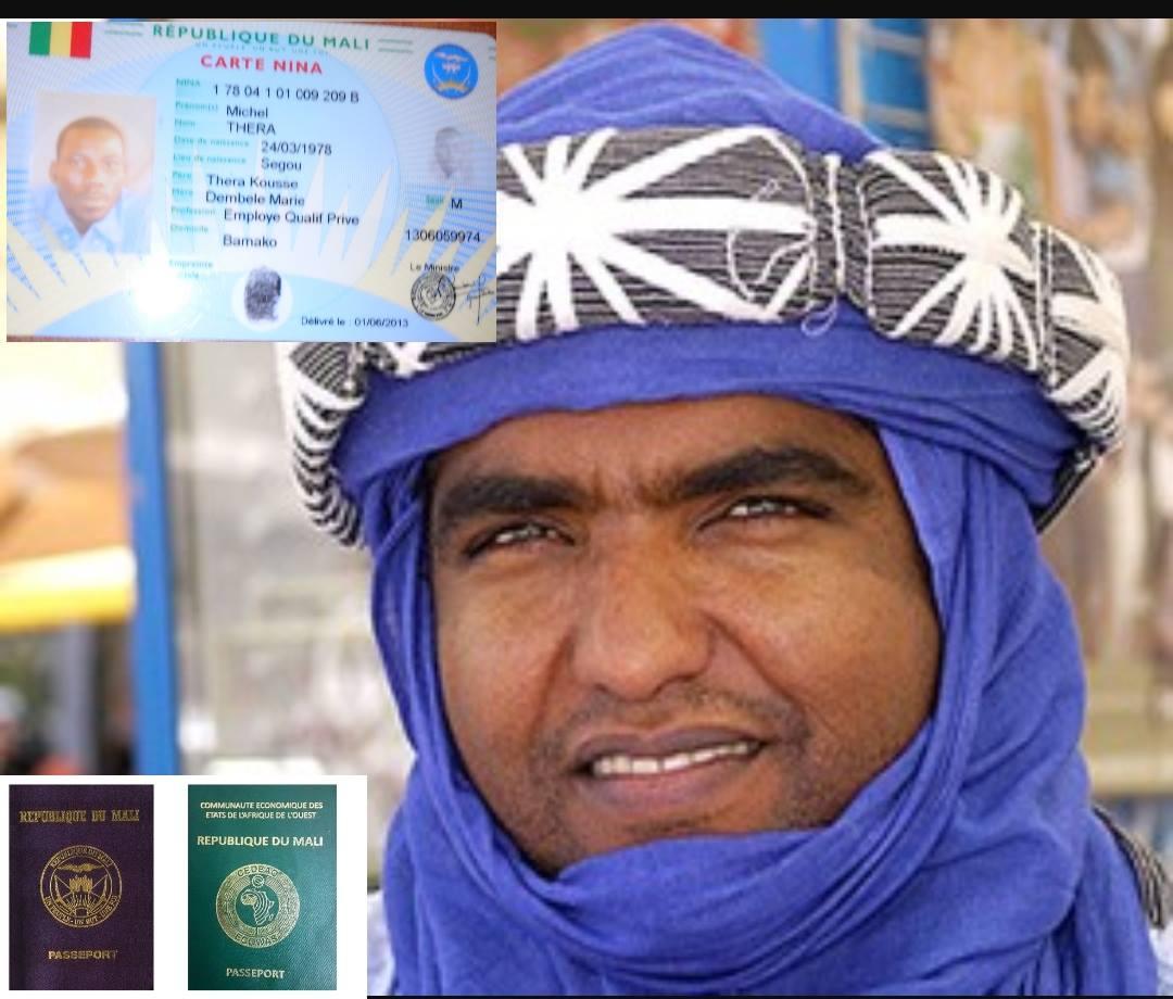 Moussa Ag assarid réclame sa carte NINA