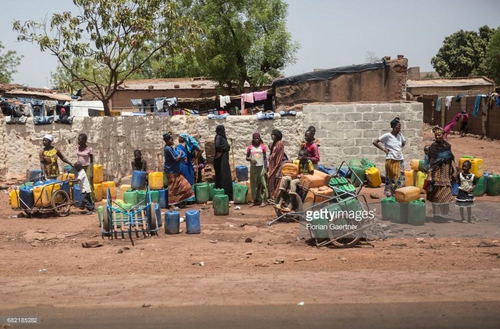L'eau potable manque au Mali