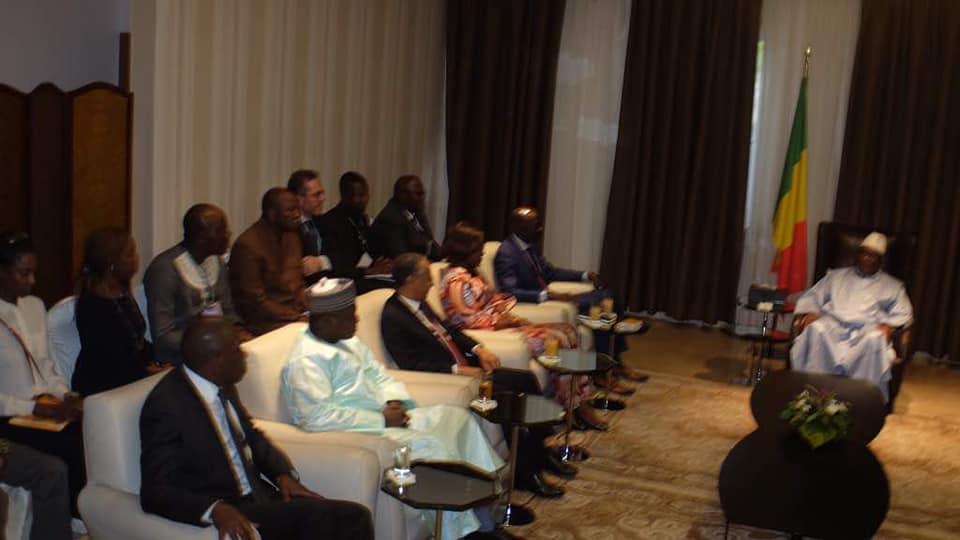 community manager de la présidence du Mali