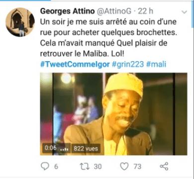 #TwitteCommeIgor : le Hashtag qui fait émerger Mamadou Igor DIARRA