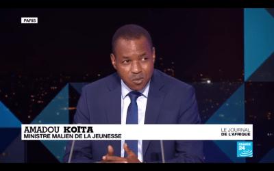 Amadou Koita sur France24 : un moment gênant pour la jeunesse malienne