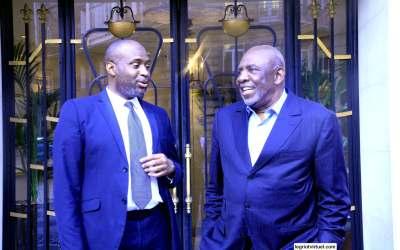 Cheick Modibo DIARRA : «Moi président, aucun membre de ma famille ne sera aux affaires»