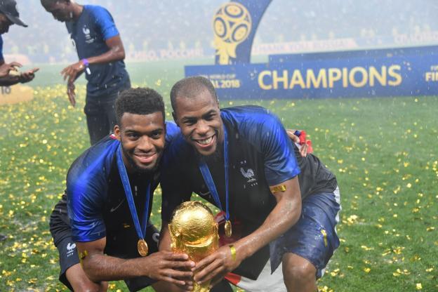 L'image de la communauté noire en France : Les joueurs de l'équipe de France, coupe du monde 2018