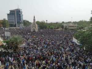 Manifestation de protestation des maliens le 5 Avril 2019 à Bamako