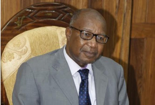 Toumani Djimé DIALLO l'ambassadeur du Mali en France en compagne d'u président Emmanuel MACRON
