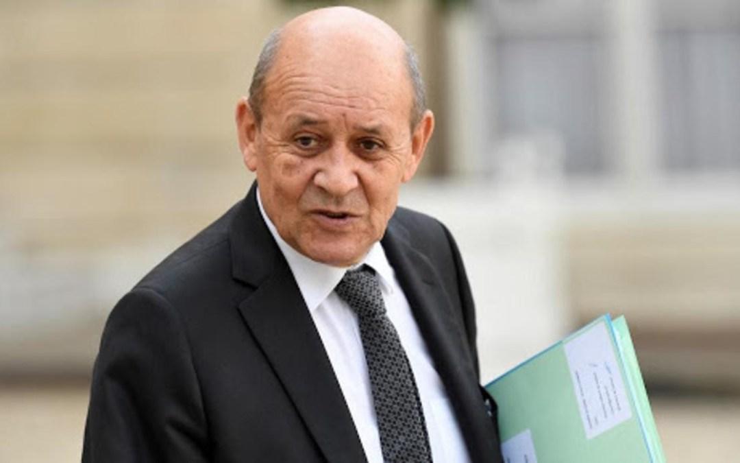 Jean Yves LE DRIAN s'en prenait au pouvoir malien