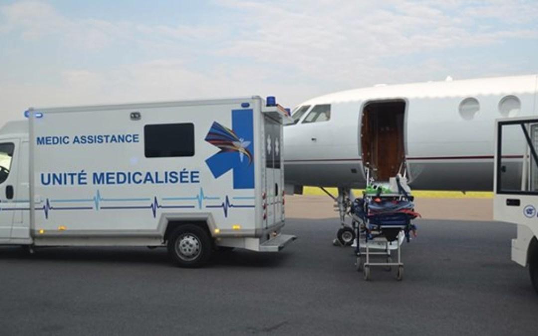 Avion médicalisé