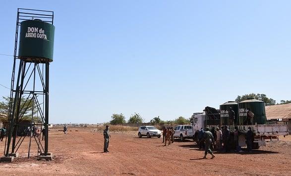 La transition malienne comme outil de positionnement