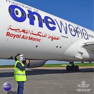 Avion de la compagnie aérienne Royal Air Maroc