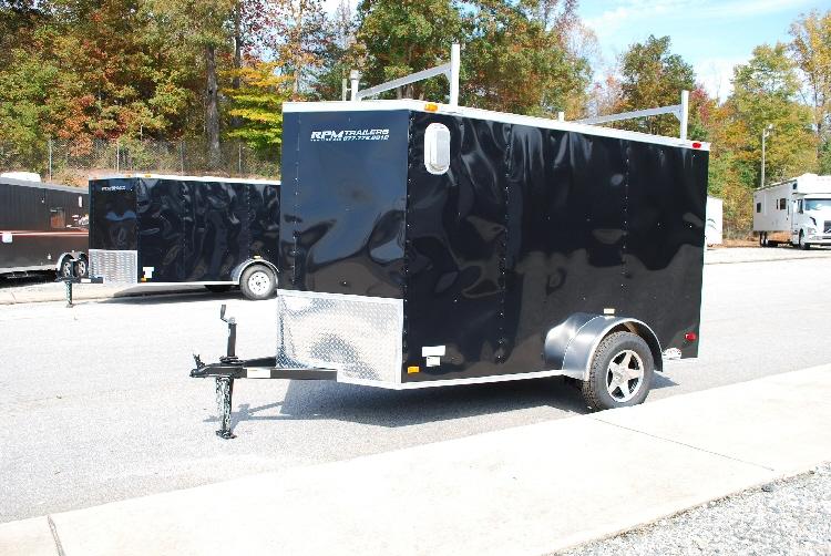 5 x 10 enclosed cargo trailers custom