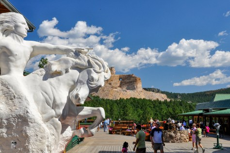 Crazy Horse, Black Mountain, SD. Taken with D90 with 18-200 VR II on August 2010.