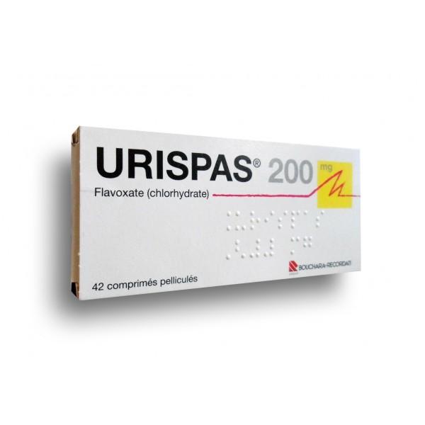 Buy Urispas (Flavoxate) 200mg Tablets Online
