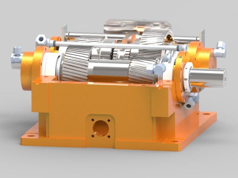 Schaltgetriebe Shifting gearbox RPT Tech GmbH