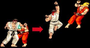 Ryu Rage Quitter 87s Street Fighter II Champion Edition shrine