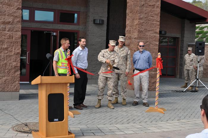 Counter Battery Radar Facility Celebrates Ribbon Cutting