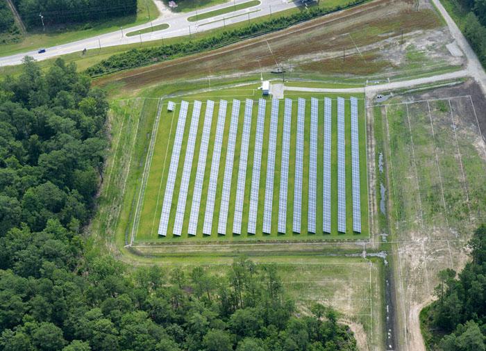 Camp Johnson Ground-Mounted PV