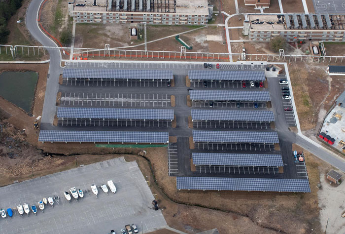 Courthouse Bay Carport PV