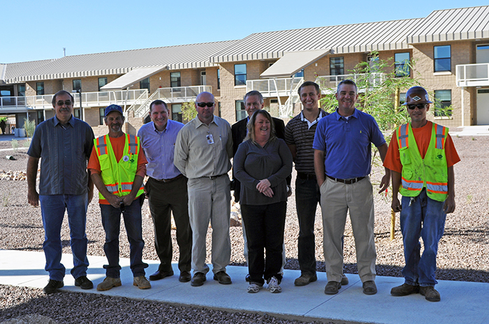 Davis-Monthan Dorm Expected To Be First LEED Gold Project On Base