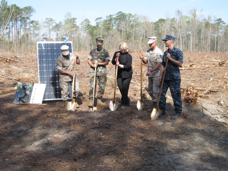 RQ Breaks Ground on P-1400 Marine Corps Energy Initiative