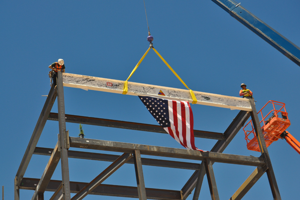 Topping Out Ceremony: Command and Control Facility
