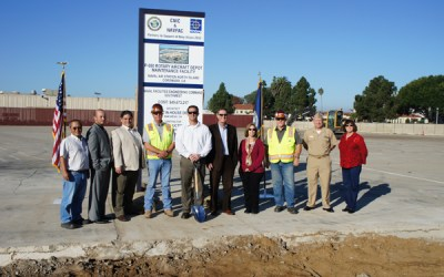 Rotary Aircraft Depot Maintenance Team Breaks Ground at Naval Base Coronado