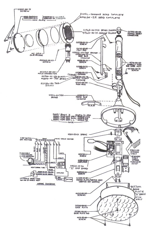 small resolution of partsforbasemic rh rrcom com astatic 636l mic wiring astatic d 104 switch e r