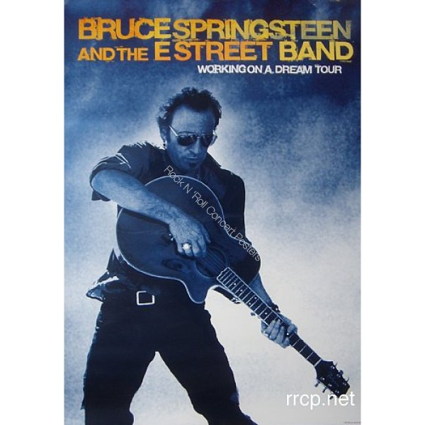 Working On a Dream Bruce Springsteen Concert Poster 2009