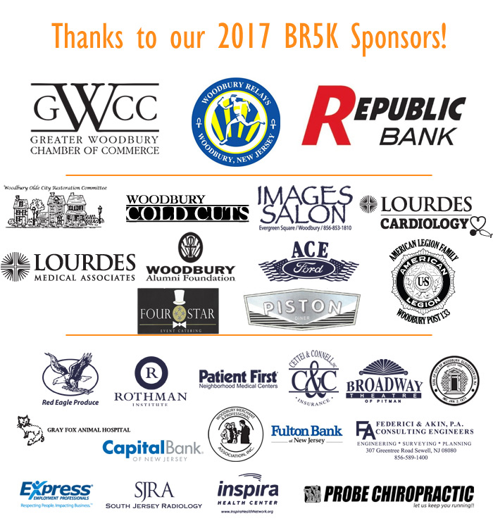 Thanks to our 2017 BR5K Sponsors!