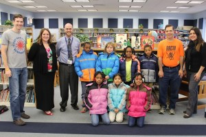 RRCW and Operation Warm provide coats to Woodbury elementary school children.