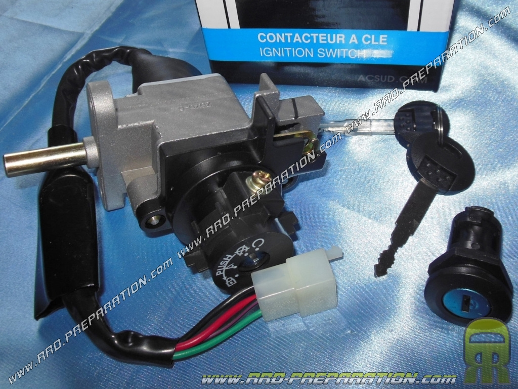 hight resolution of contactor neiman with 2 keys key lock box tnt original for peugeot speedfight 3 vivacity 3