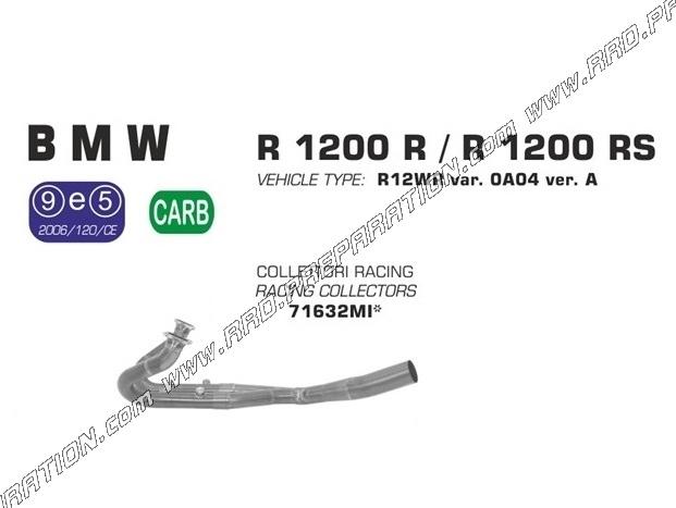 Collecteur d'échappement ARROW Racing pour BMW R 1200 R