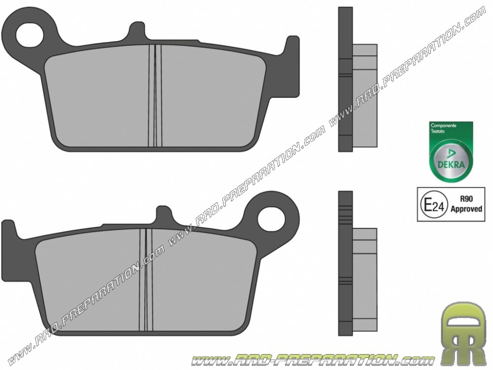 medium resolution of brake pads malossi front rear for honda ns nsr crm peugeot sv kymco filly top boy