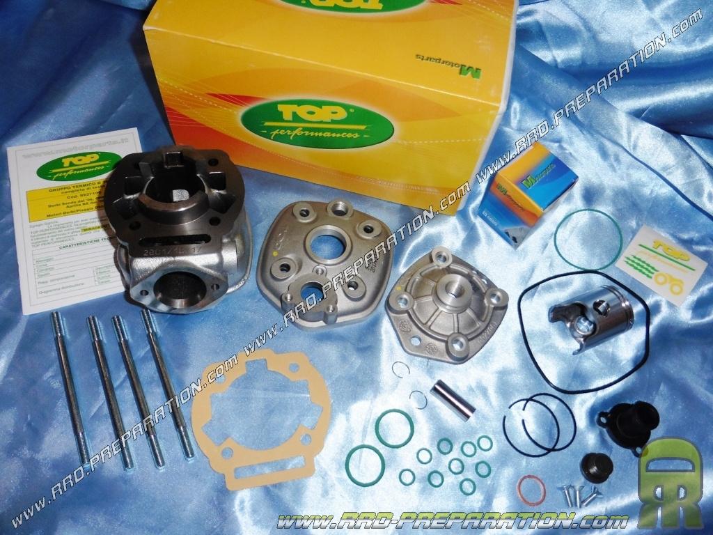 kit 50cc high engine o40mm top performances cast iron derbi euro 3 www rrd preparation com