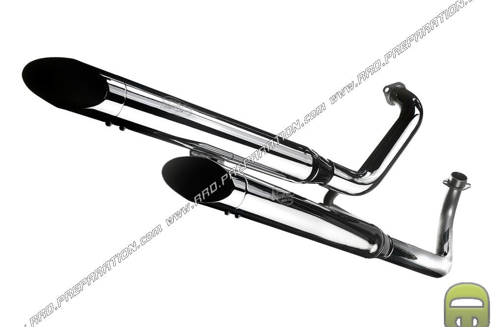 turbokit custom exhaust for honda cmx rebel 250 and 450 motorcycle www rrd preparation com