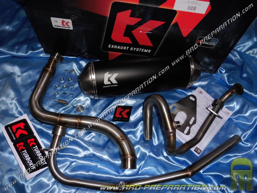 turbokit tk off road exhaust for honda xl varadero 125cc 4t