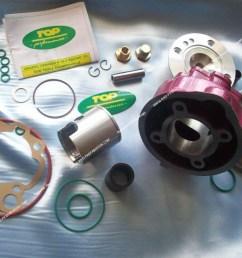 kit 75cc 49 5mm top performances rose racing fonte minarelli am6 [ 1024 x 768 Pixel ]