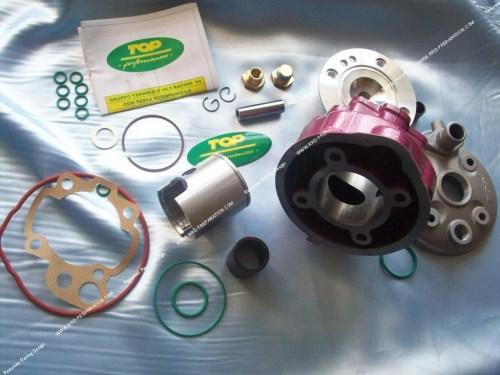 small resolution of kit 75cc 49 5mm top performances rose racing fonte minarelli am6
