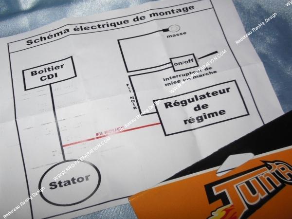 dyna s wiring diagram schneider electric contactor régulateur / limitateur de régime moteur (bride électronique) tun'r universel (moto, mécaboite ...